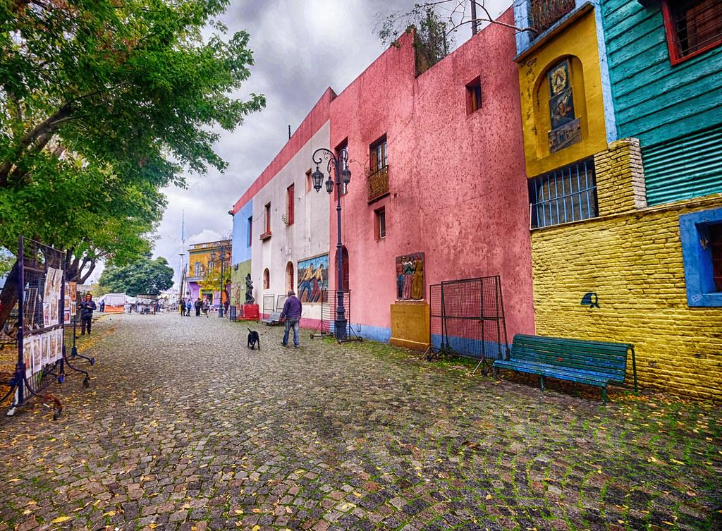 Colorful La Boca in Buenos Aires, Argentina | La Boca is a n… | Flickr