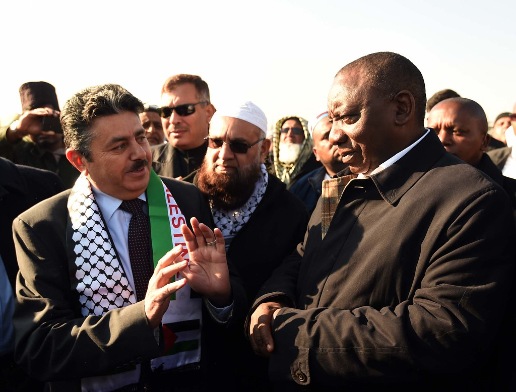 Image result for RAMAPHOSA PALESTINE