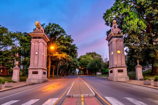 U City Lion Gates