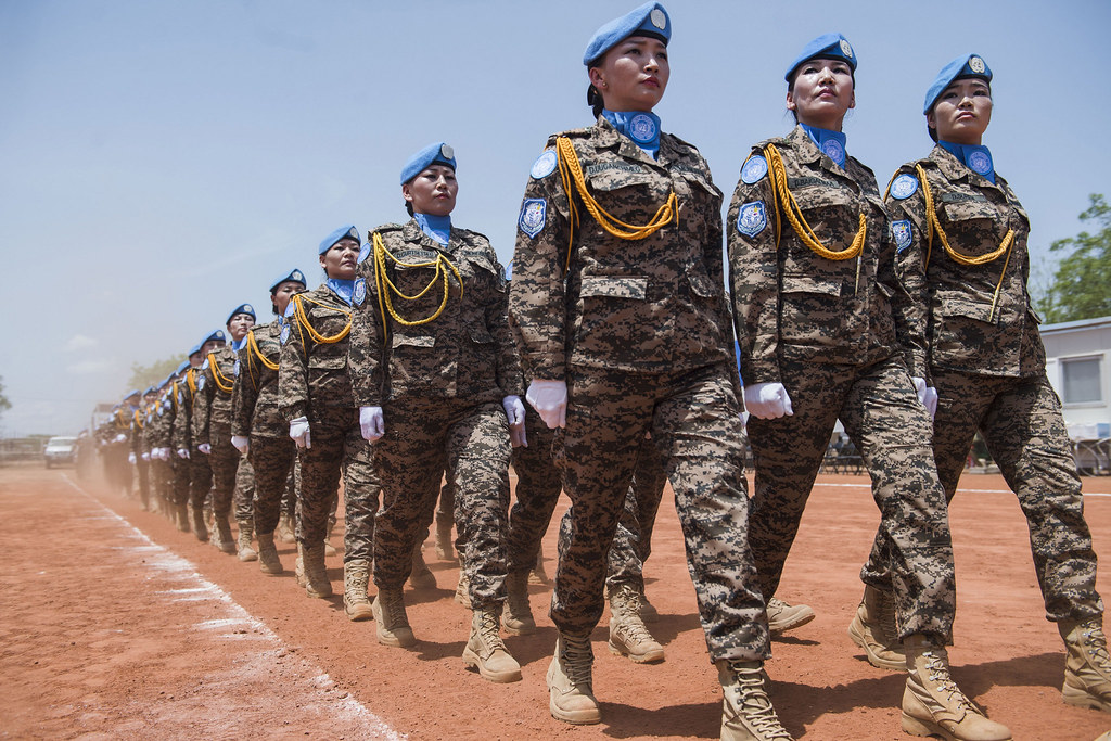 Medal Parade for Mongolian Peacekeepers in South Sudan