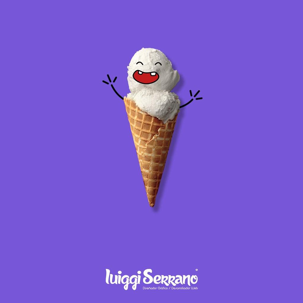 Helado Art #helado #art #luiggiserrano