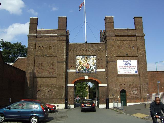 Entrance to Chatham Historic Dockyard
