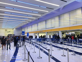 New central security checkpoint at LAX T7 | by airbus777