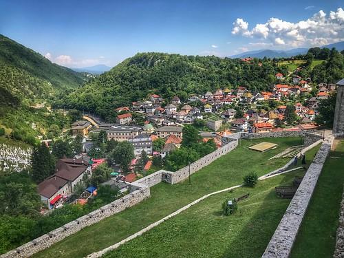 قلعة fortress vidikovac dvorac palata zamak tvrđava tvrdjava travnik starigrad