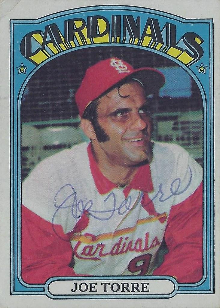 1972 Topps Joe Torre 500 Third Base Baseball Hall Of Flickr
