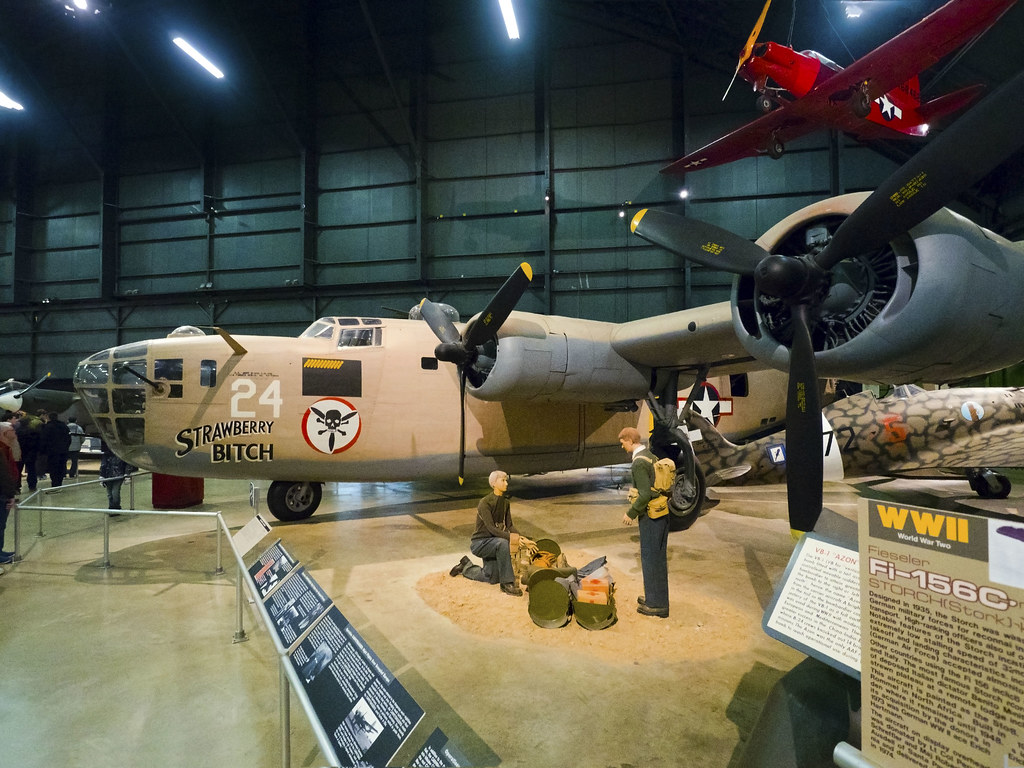 USAF Museum 04-18-2017 - Consolidated B-24D Liberator 3