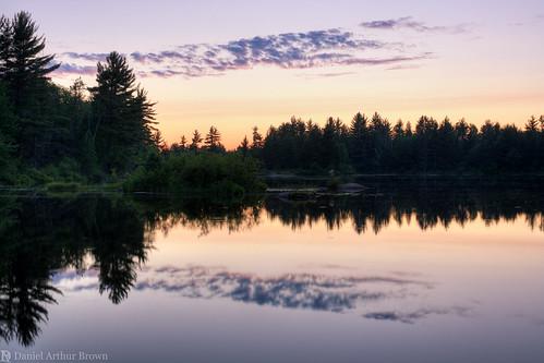 cataractbasin gwinn july mi michigan up upperpeninsula vacation landscape nature reflection summer sunset travel