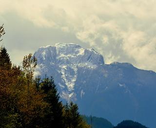BEAUTIFUL MOUNTAIN PEAK...THE NORTH CASCADES OF B.C.. (NEAR HOPE,  BC.)