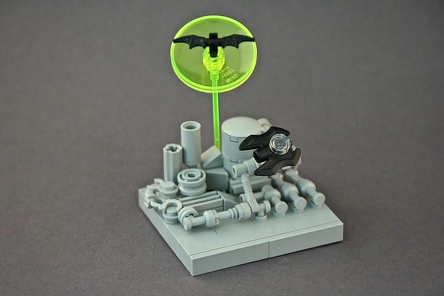 Micro Lego Batwing