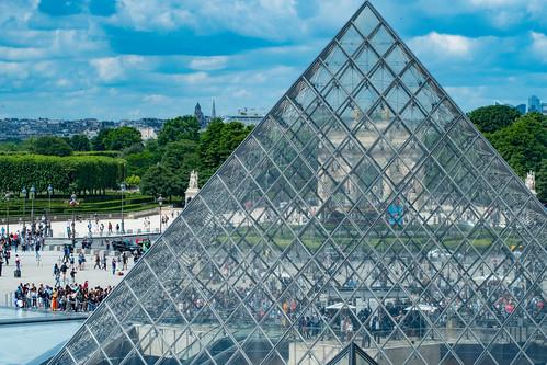 Louvre Glass Pyramid | by nan palmero