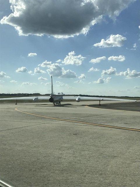 NASA's ER-2 Aircraft Prepares to Take Off