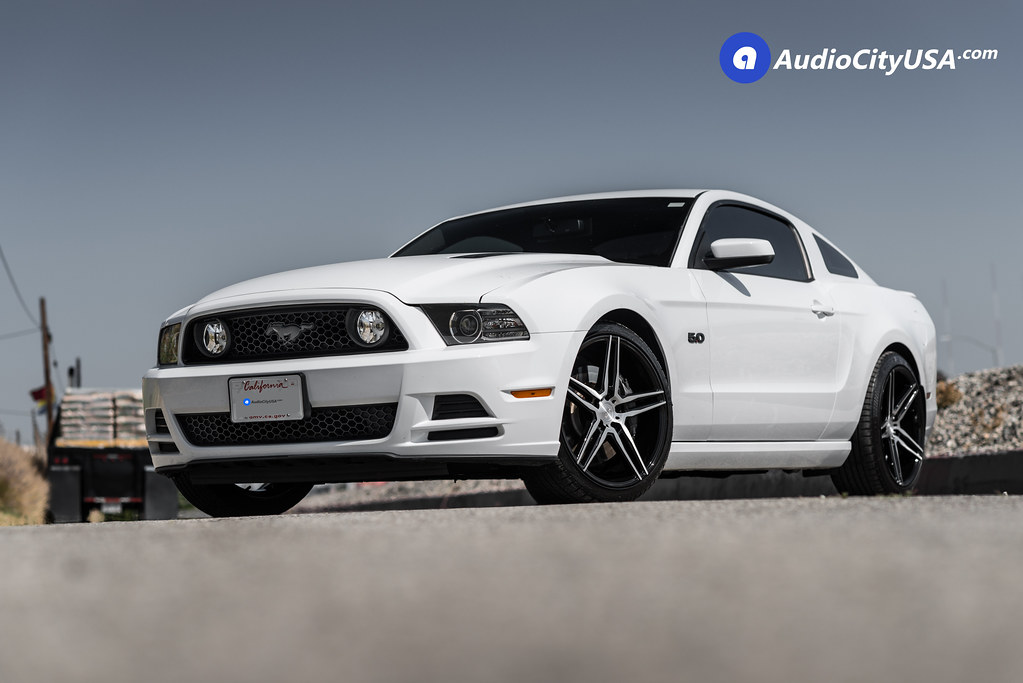 Niche Wheels Mustang >> Ford Mustang 5 0 On 20 Niche Wheels Turin M169 Gloss Blac Flickr
