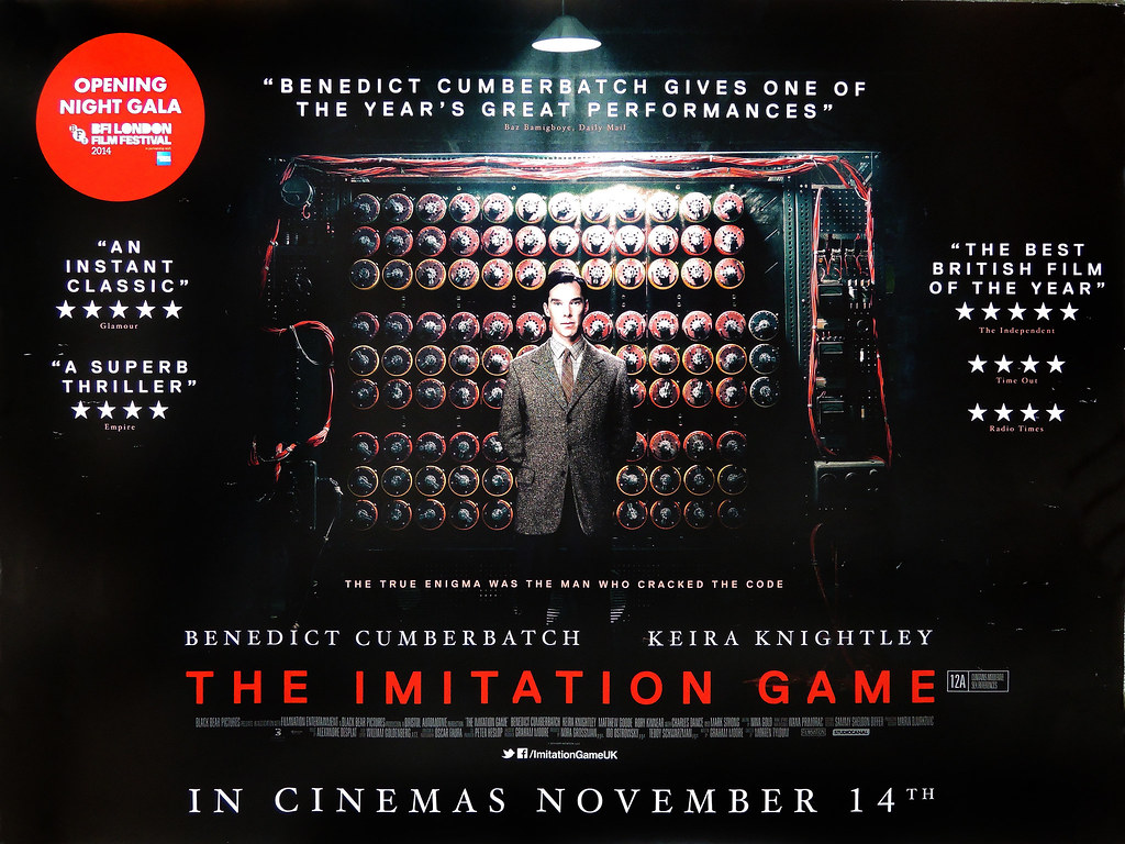 the-imitation-game-a-quad-poster | Checkout more amazing ori… | Flickr