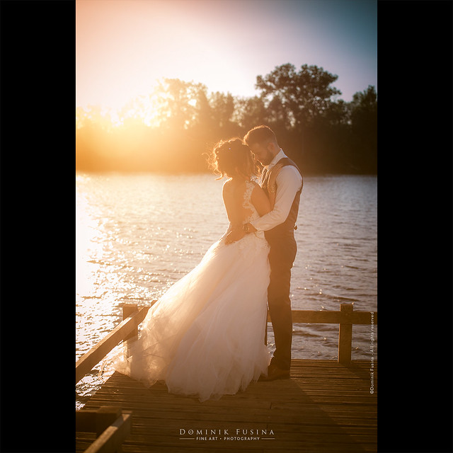 Wedding sunset | Megane & Jeremy