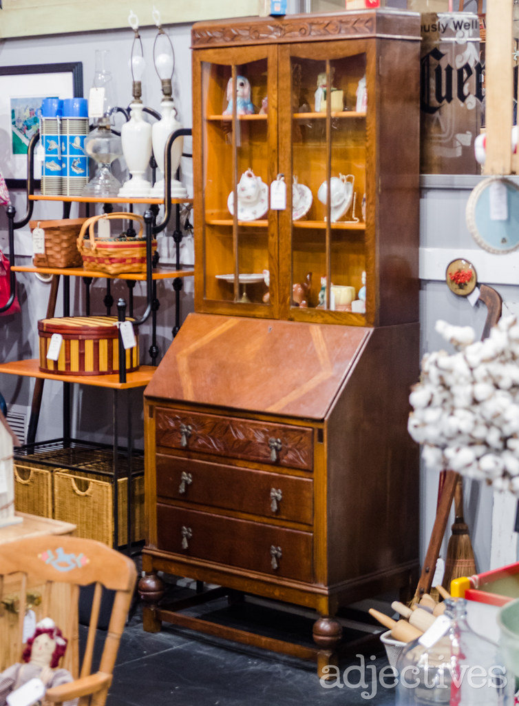 China Cabinet by Potbelly Antiques in Adjectives Winter Garden
