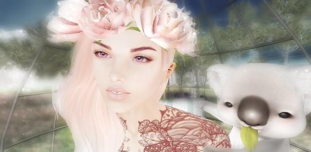 Pink soul portrait