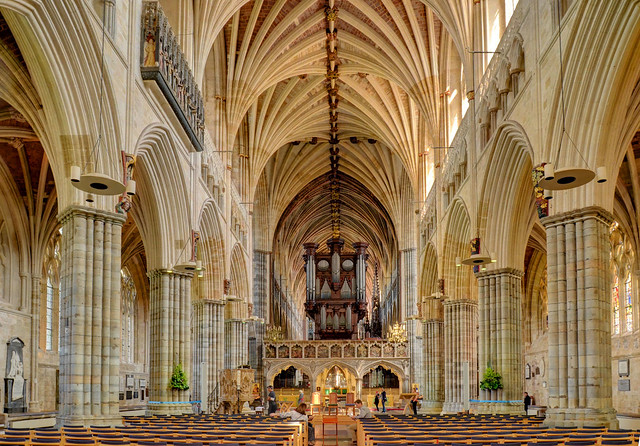 Exeter Cathedral - The Nave