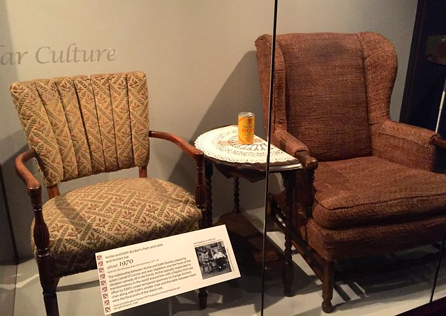 Archie and Edith Bunker's chairs
