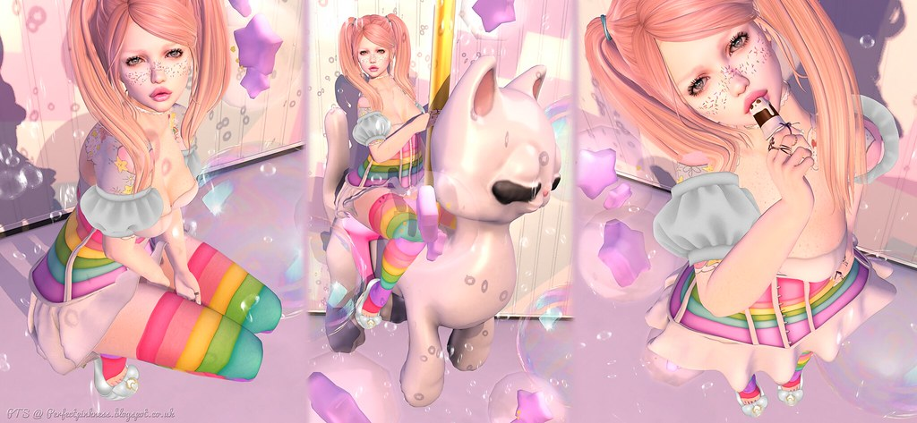 Epic Rainbows and bouncin Bubbles