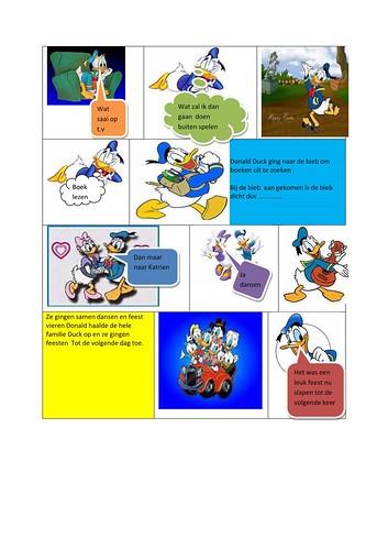 strip Donald Duck