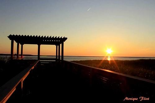 sunrise sun beach sky orange morning ocean massachusetts weather weatherphotography nature landscape