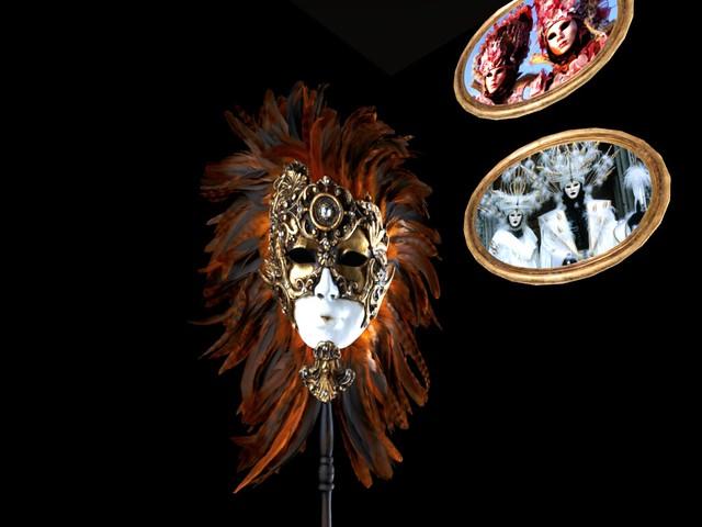 SL14B Wonderous - Masquerade - Venetian Masque II