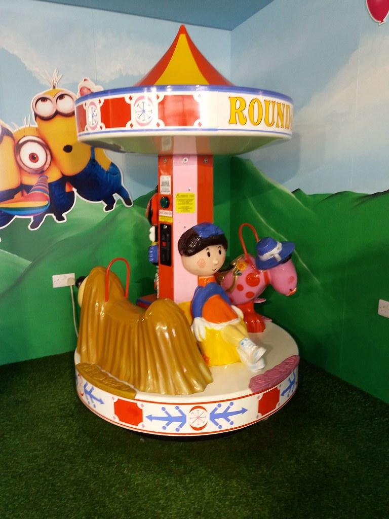 Skegness Pleasure Beach Fun Factory The Magic Roundabout C… | Flickr