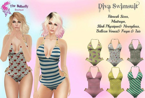 Diva Swimsuit  @Inspiration | by thebutterfly.boutiquesl