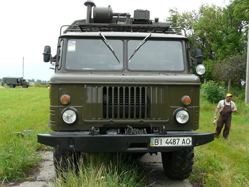 ГАЗ-66 8