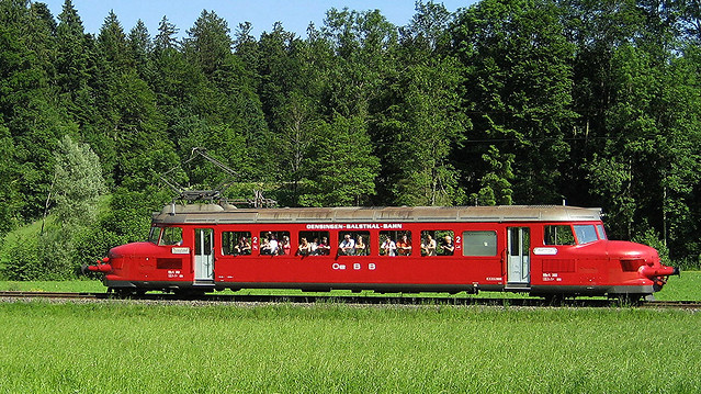 Roter Pfeil / Red Arrow  RBe 2/4 202