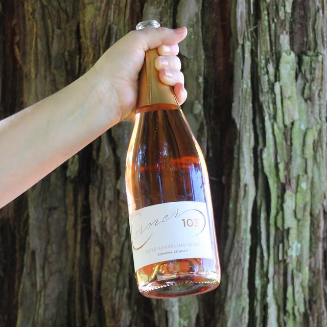 Corner 103  Rosé Sparkling Wine, Sonoma County