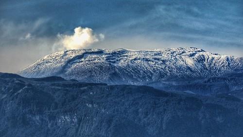 landscape volcano clouds cold paisaje mountain novatos ilusion sky blue nature