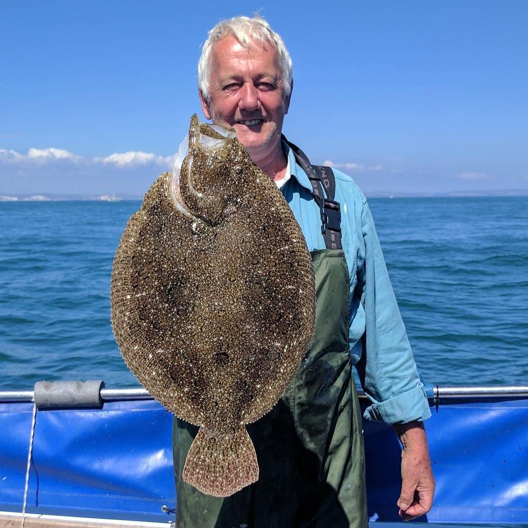 JJ and a brill #amarisaweymouth #brill #fishingtrip #fishinguk