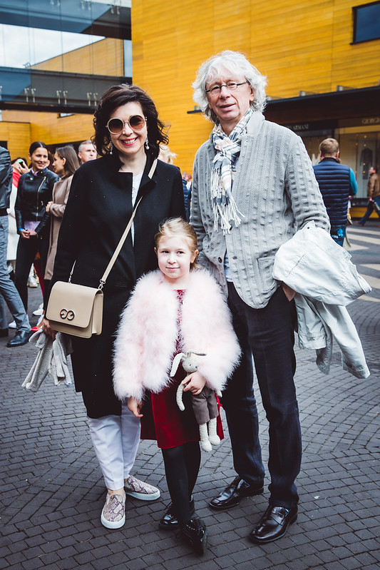 Аркадий Укупник с женой Натальей и дочерью Соней