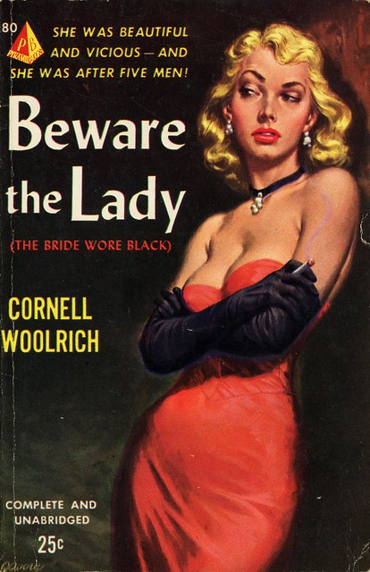 Pyramid Books 80 - Cornell Woolrich - Beware the Lady