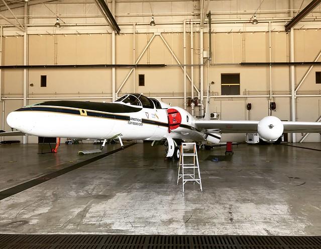 NASA ER-2 Plane Ready for Mission
