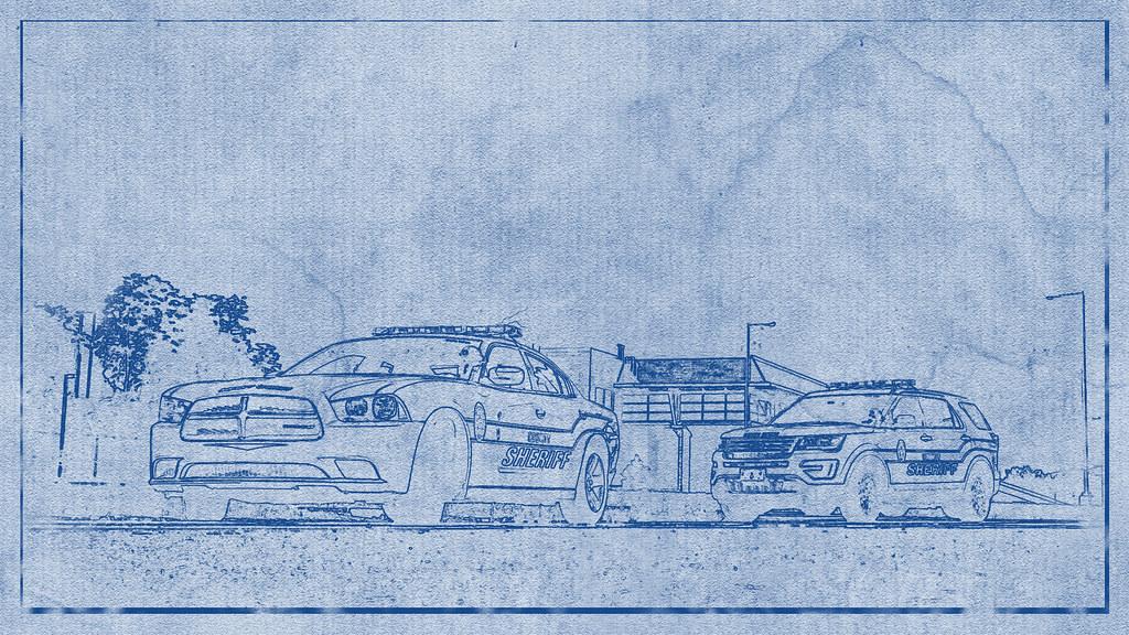 Police car blueprint   Osajus   Flickr