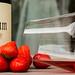 Rosa vom Weingut Umathum - Erdbeeren im Glas!!!