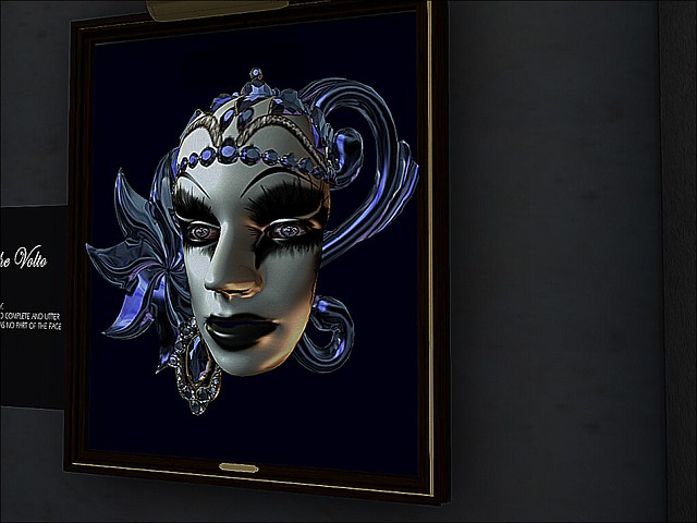SL14B  Spellbound - Venitian Mask Gallery - The Volto