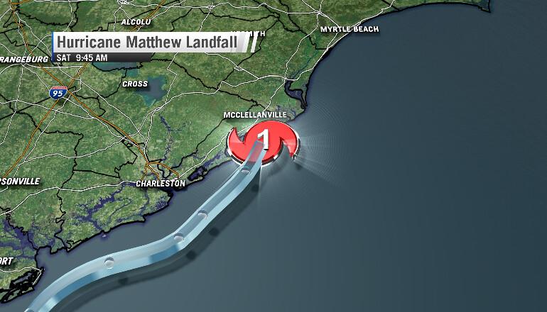 matthew-landfall