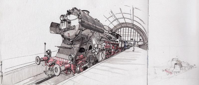 Steam Train BR-52 (1943)