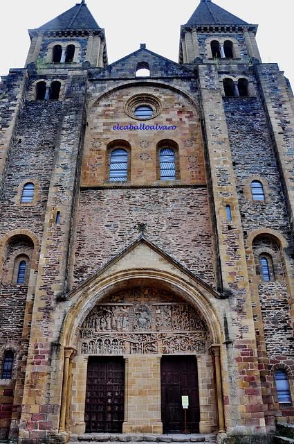 541 - Abadía Sainte Foy - Conques (France).