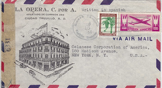 Dominican Republic La Opera to Celanese 1944 (2)