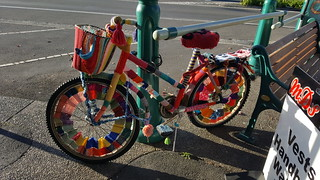 YarnBombed Bicycle | by easegill