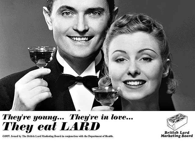 They Eat LARD !!