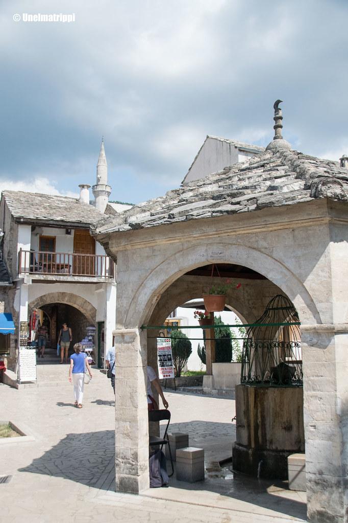 Näkymä Mostarin kadulla