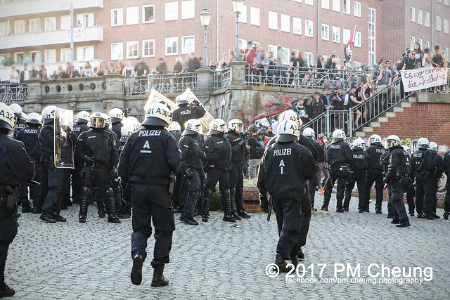 Protest gegen G20 - Demonstration: Welcome to Hell - 06.07.2017 - Hamburg - IMG_1864