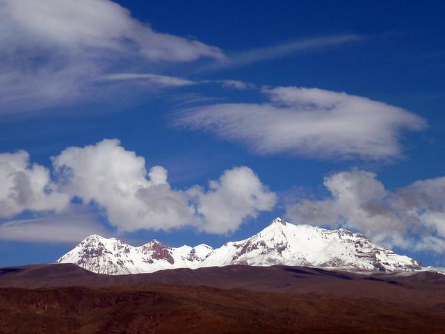 Mount Hualca Hualca (6025 m asl), Peru