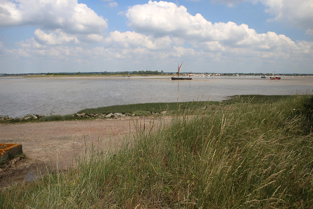 The Blackwater Estuary from Northey Island