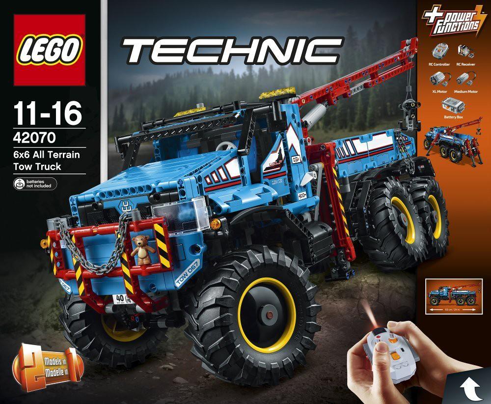 LEGO Technic 42070 - 6x6 All Terrain Tow Truck   Release ...